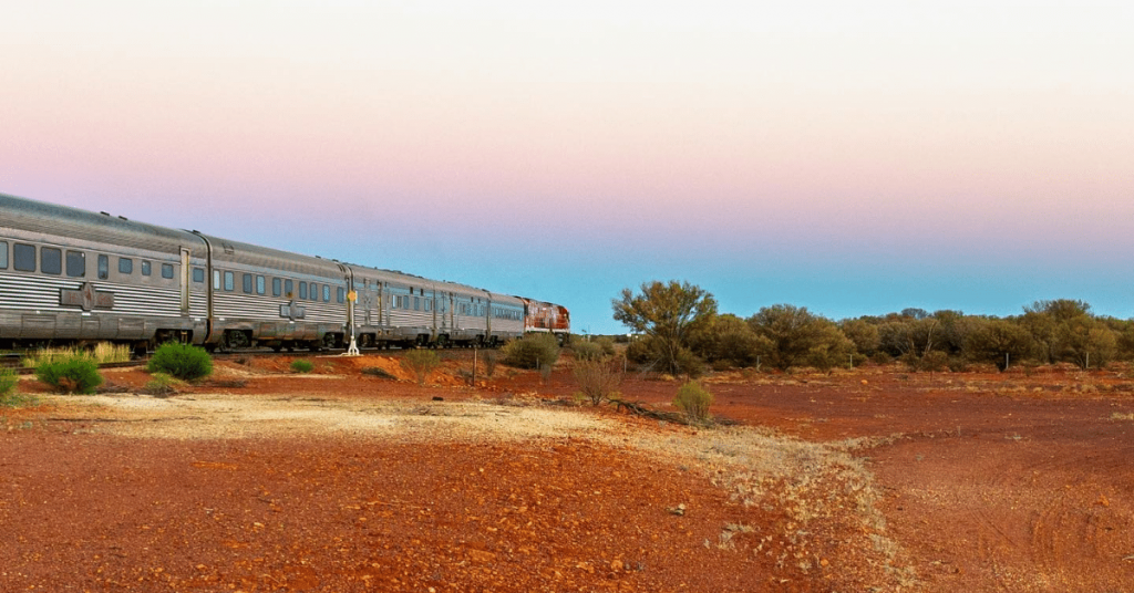 outback vista The Ghan