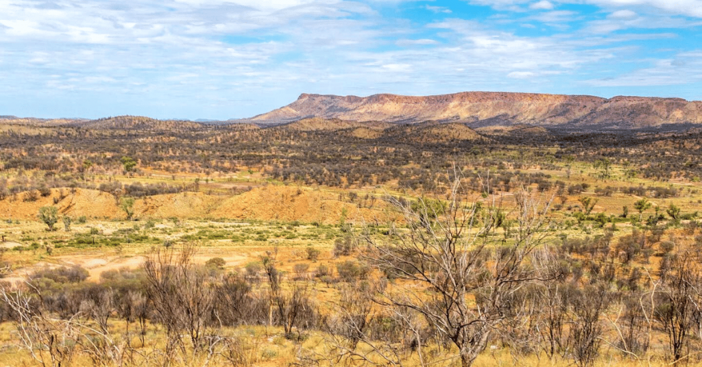 rugged outback beauty The Ghan Adelaide to Darwin