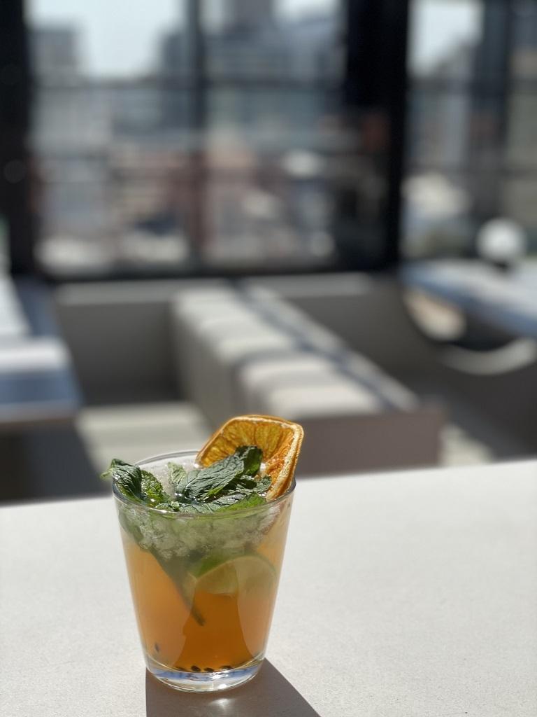 Hotel Indigo Central Markets Adelaide Rooftop Bar Merrymaker cocktail
