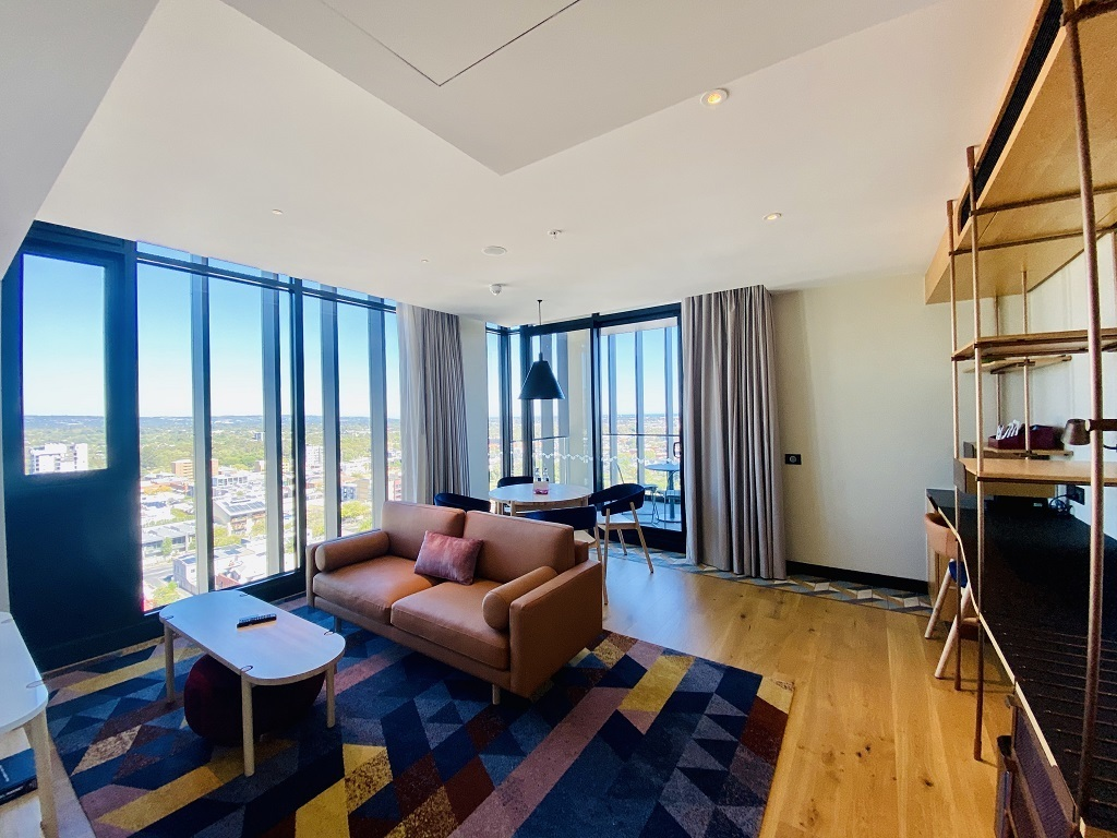Hotel Indigo Central Markets Adelaide One Bedroom Indigo Suite