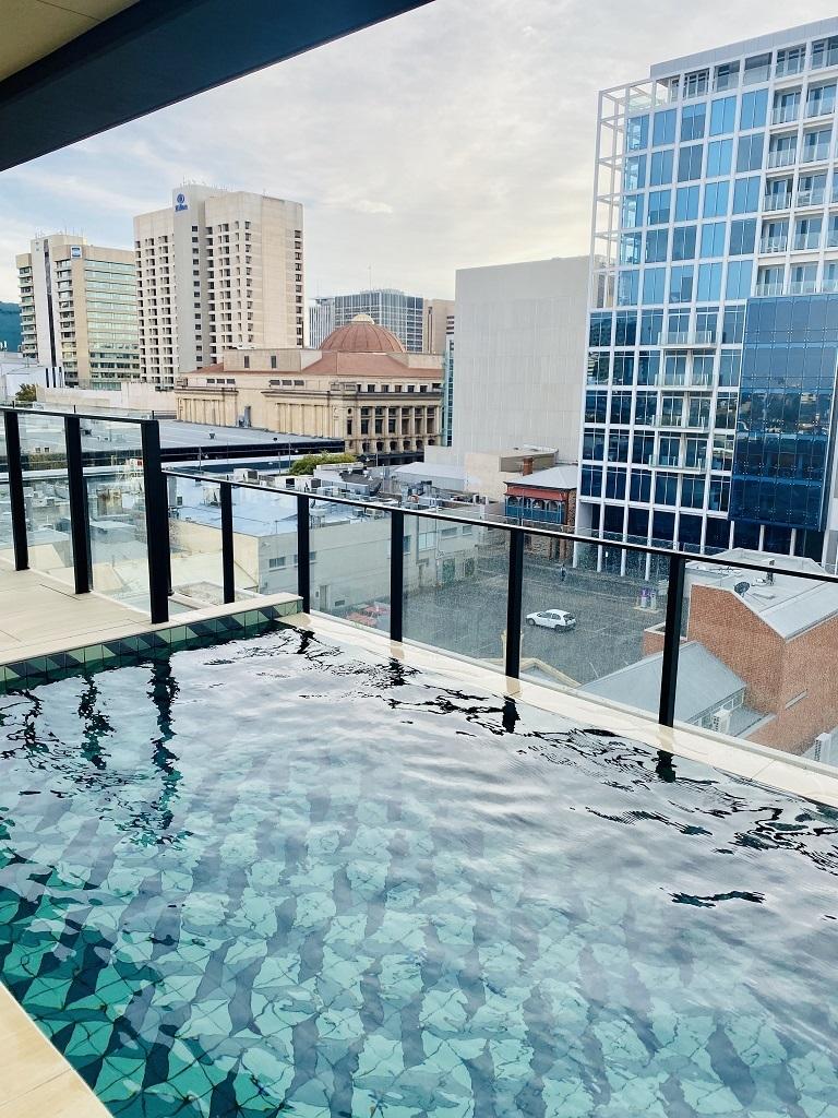 Hotel Indigo Central Markets Adelaide Pool Deck