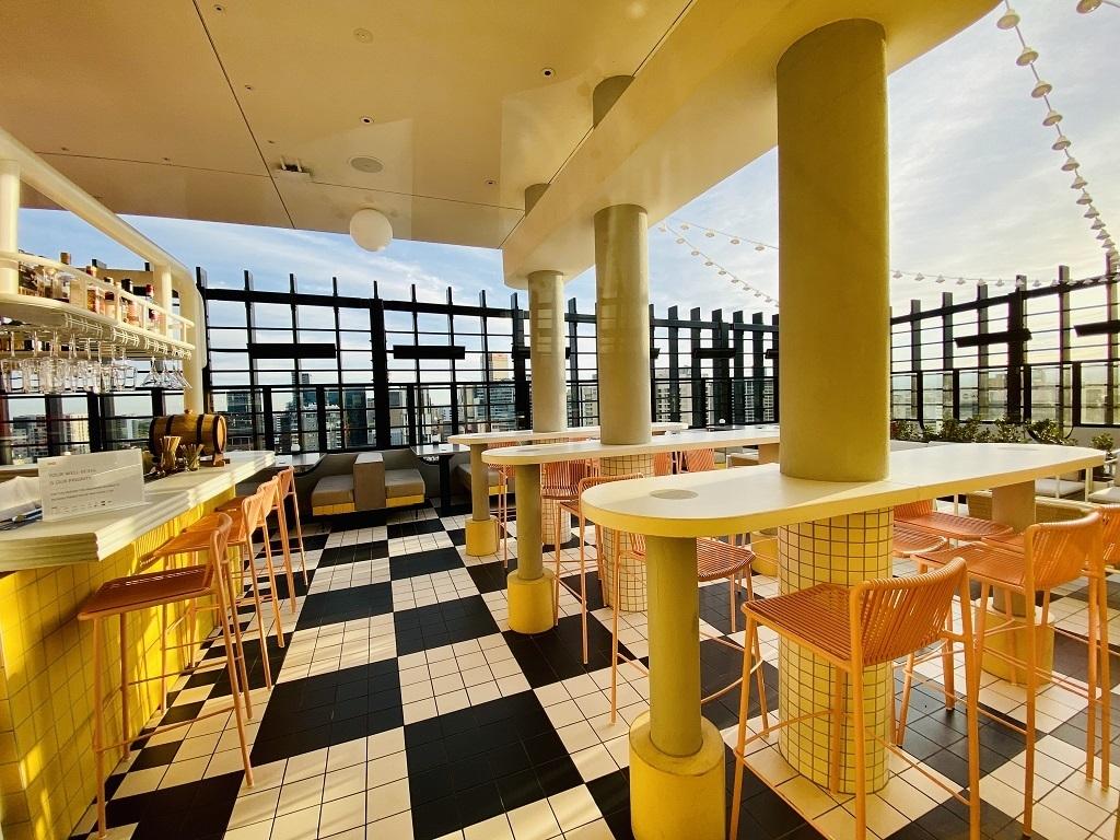 Hotel Indigo Central Markets Adelaide Merrymaker Rooftop Bar