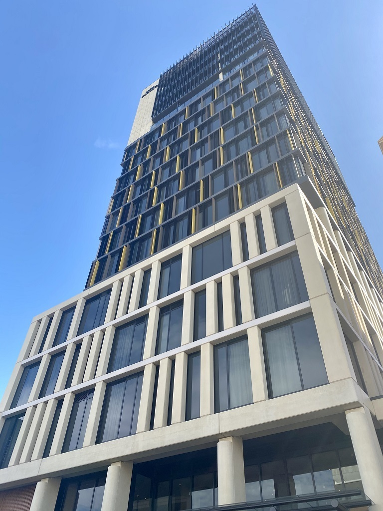 Hotel Indigo Central Markets Adelaide building