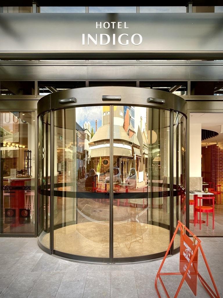 Hotel Indigo Central Markets Adelaide entrance