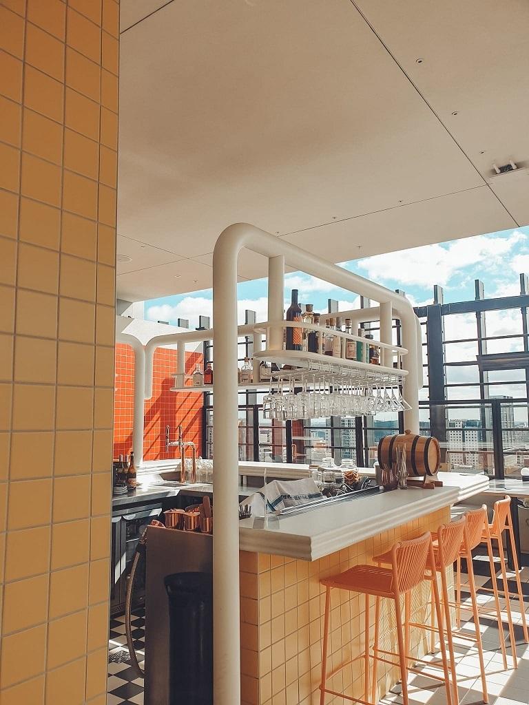 Hotel Indigo Central Markets Adelaide Rooftop Bar Merrymaker