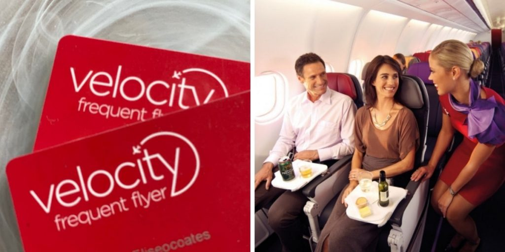 happy velocity frequent flyers on virgin airlines