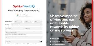 Opinion World Paid Surveys Australia