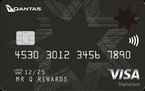 NAB Qantas Rewards Signature Credit Card VISA