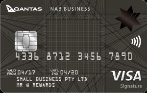 NAB Qantas Business Signature Card