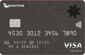nab qantas rewards signature card