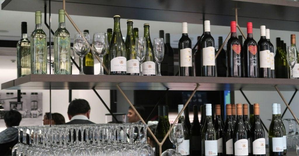 amex melbourne lounge tullamarine bar
