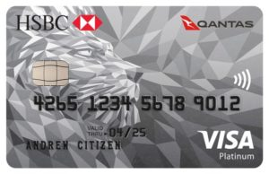 HSBC-Qantas-Platinum-Credit-Card VISA, Qantas Classic Flight Reward