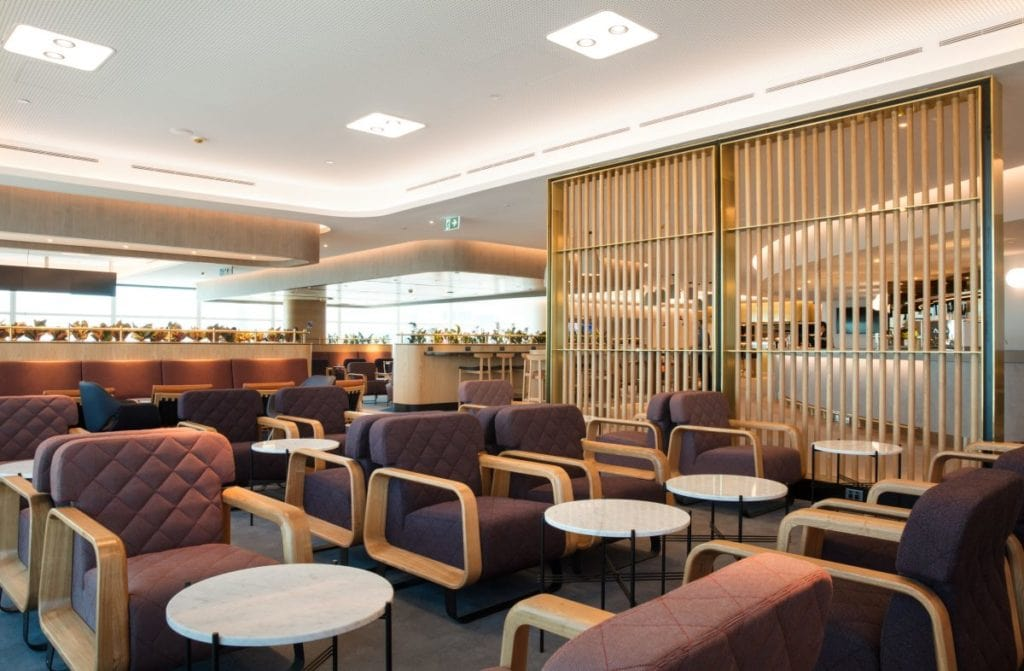 Qantas elite status delivers many perks, including lounge access