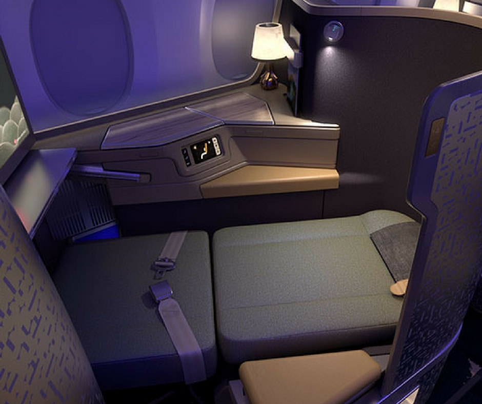 China Airlines A350 trans-Tasman Business Class