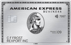 American Express Platinum Business charge card