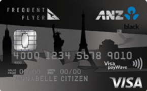ANZ Frequent Flyer Black Visa Credit Card