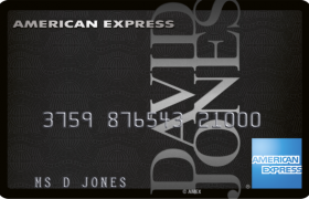 David Jones American Express credit card
