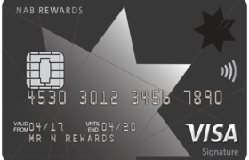 NAB Rewards Signature Visa Credit Card