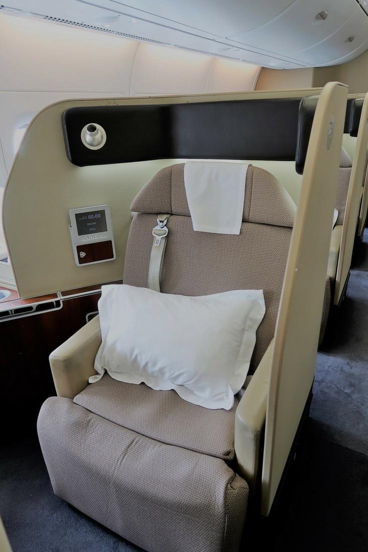 Qantas A380 first class review